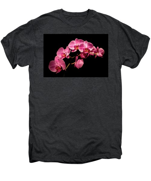 Pink Orchids 3 Men's Premium T-Shirt