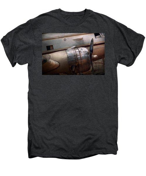Plane - A Little Rough Around The Edges Men's Premium T-Shirt