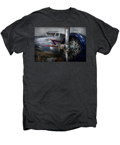 Plane - Hey Fly Boy  Men's Premium T-Shirt