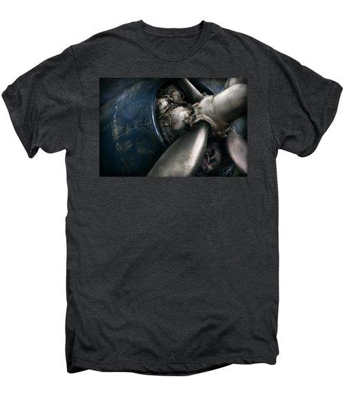 Plane - Pilot - Prop - You Are Clear To Go Men's Premium T-Shirt