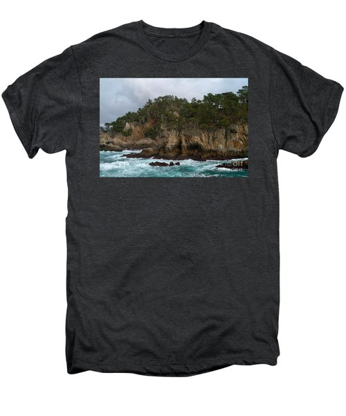 Point Lobos Coastal View Men's Premium T-Shirt
