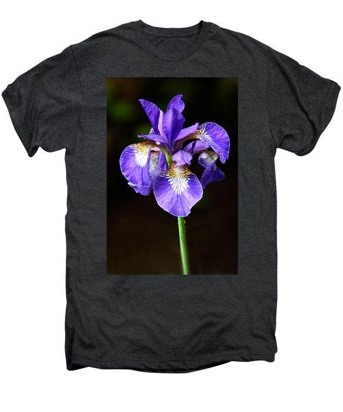 Purple Iris Men's Premium T-Shirt