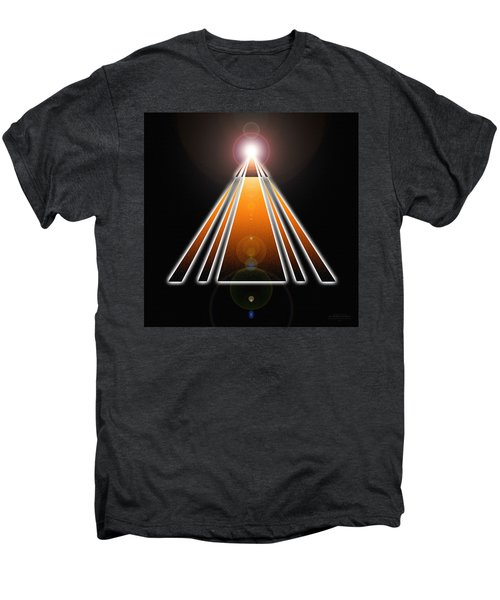 Pyramid Of Light Men's Premium T-Shirt