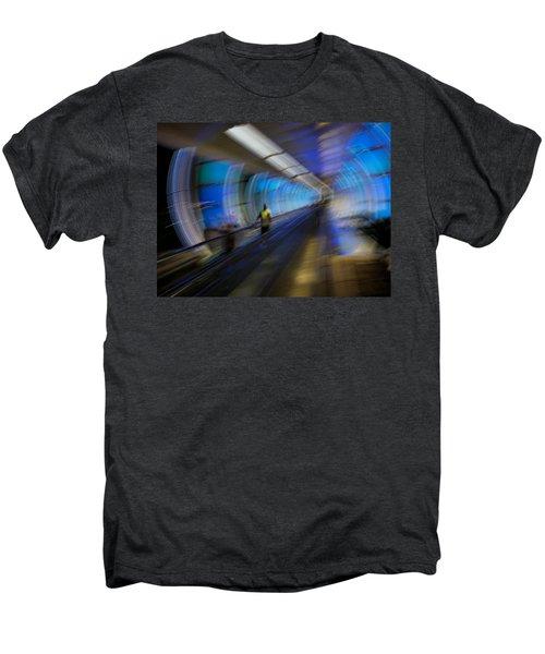 Men's Premium T-Shirt featuring the photograph Quantum Tunneling by Alex Lapidus