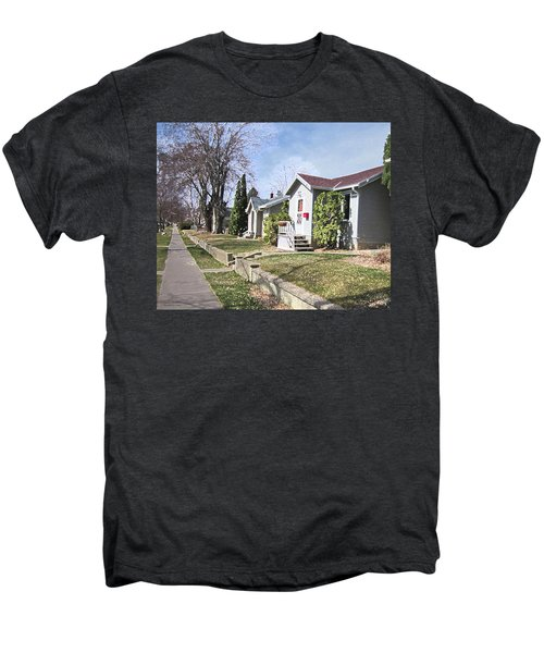Quiet Street Waiting For Spring Men's Premium T-Shirt