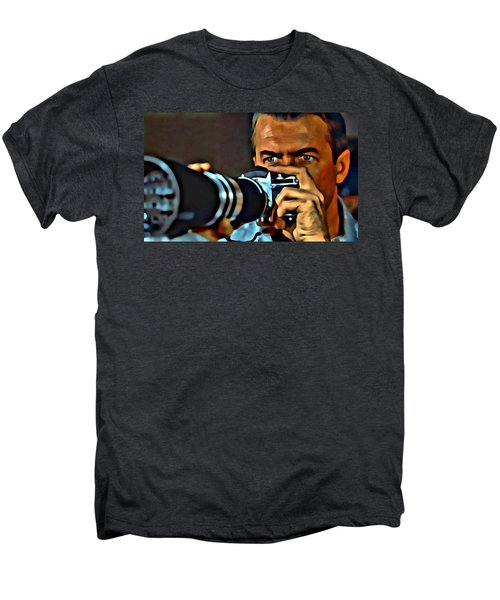Rear Window Men's Premium T-Shirt by Florian Rodarte