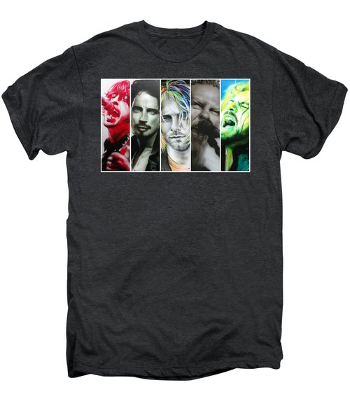 Rock Montage I Men's Premium T-Shirt
