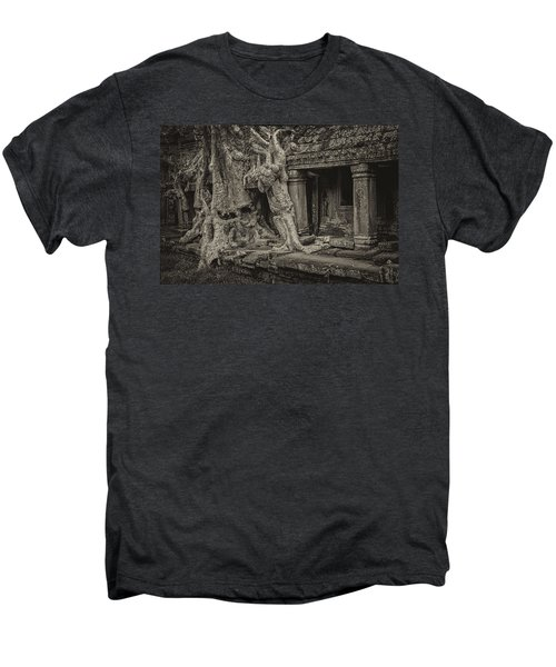 Roots In Ruins 7, Ta Prohm, 2014 Men's Premium T-Shirt