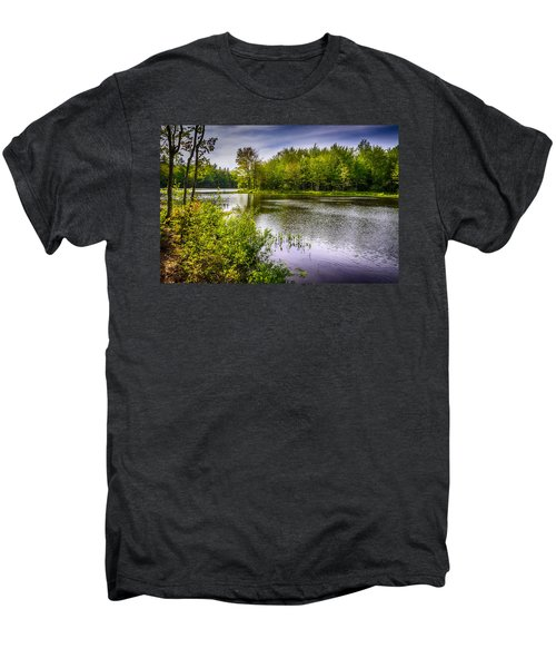 Men's Premium T-Shirt featuring the photograph Round The Bend 35 by Mark Myhaver