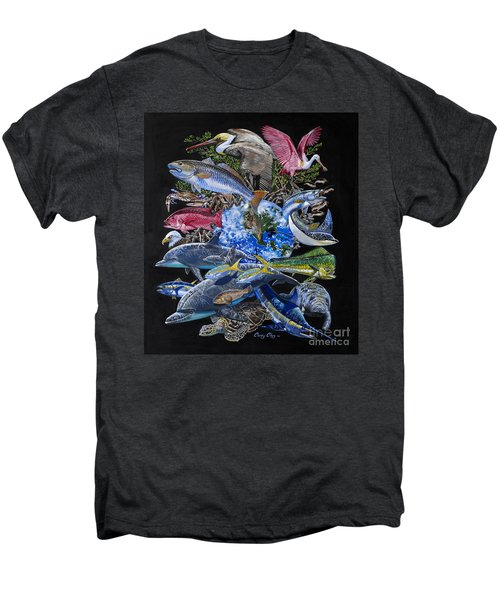 Save Our Seas In008 Men's Premium T-Shirt by Carey Chen