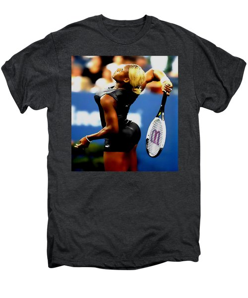 Serena Williams Catsuit II Men's Premium T-Shirt by Brian Reaves