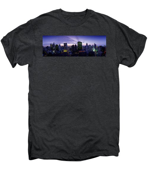 Skyscrapers, Chicago, Illinois, Usa Men's Premium T-Shirt