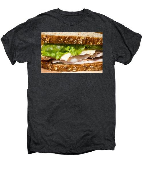 Smoked Turkey Sandwich Men's Premium T-Shirt by Edward Fielding