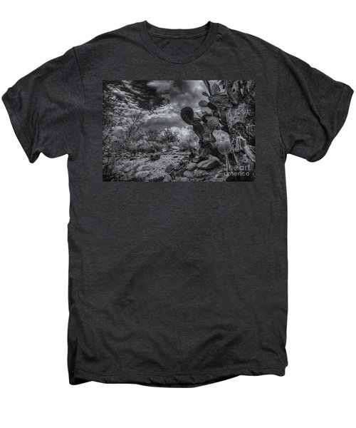 Men's Premium T-Shirt featuring the photograph Sonoran Desert 15 by Mark Myhaver