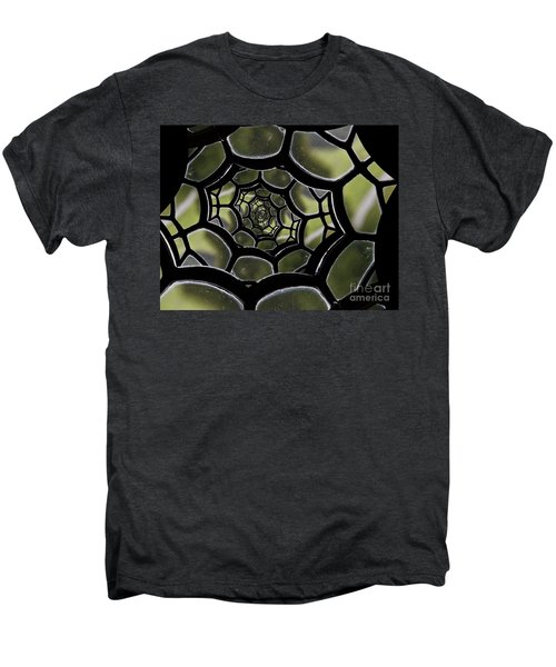 Men's Premium T-Shirt featuring the photograph Spider's Web. by Clare Bambers