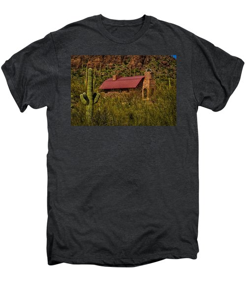 Men's Premium T-Shirt featuring the photograph Spiritual Oasis by Mark Myhaver