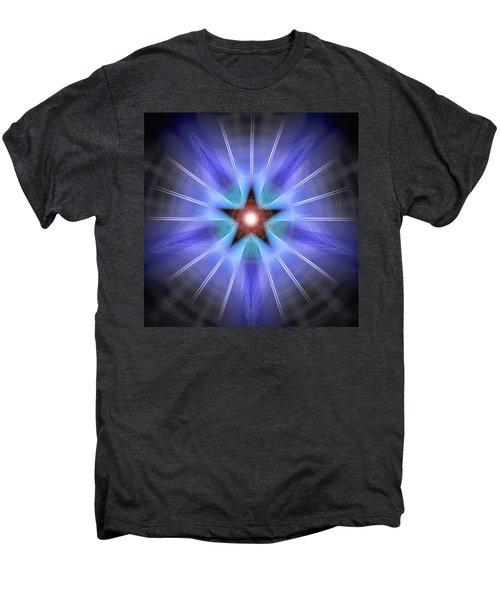 Spiritual Pulsar Men's Premium T-Shirt by Derek Gedney