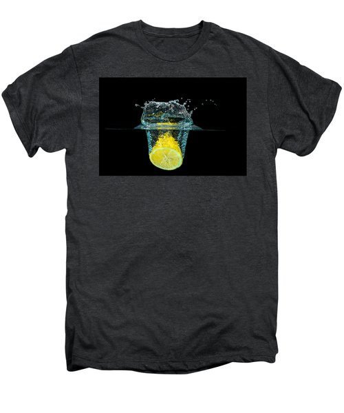 Splashing Lemon Men's Premium T-Shirt