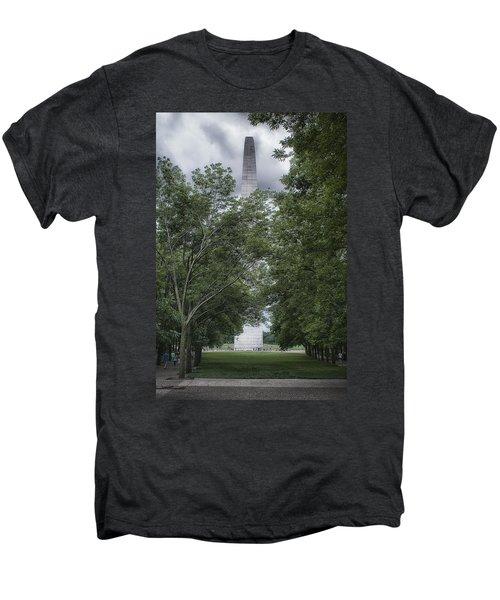 St Louis Arch Men's Premium T-Shirt by Lynn Geoffroy