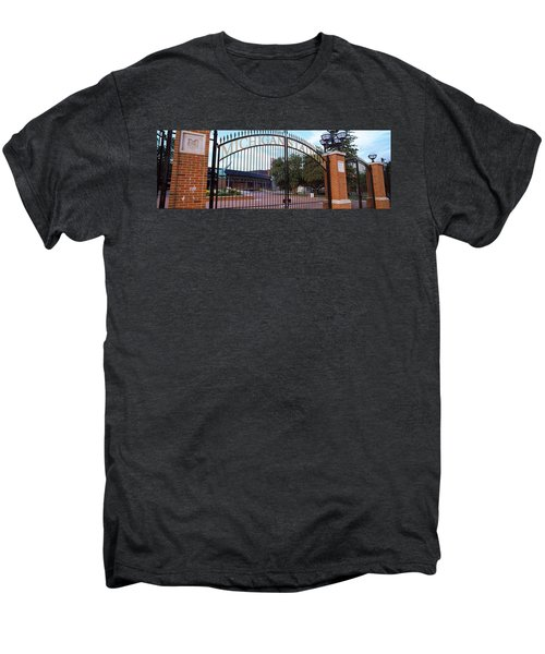 Stadium Of A University, Michigan Men's Premium T-Shirt by Panoramic Images
