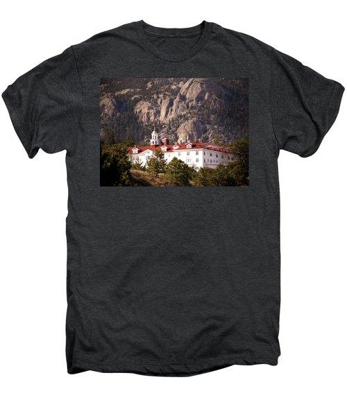 Stanley Hotel Estes Park Men's Premium T-Shirt by Marilyn Hunt