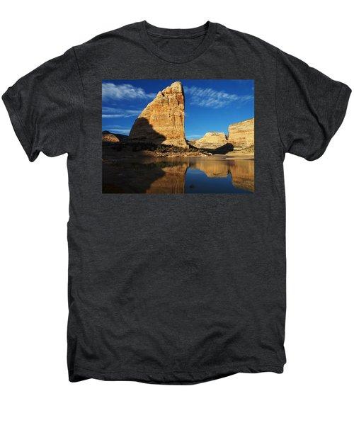 Steamboat Rock In Dinosaur National Monument Men's Premium T-Shirt