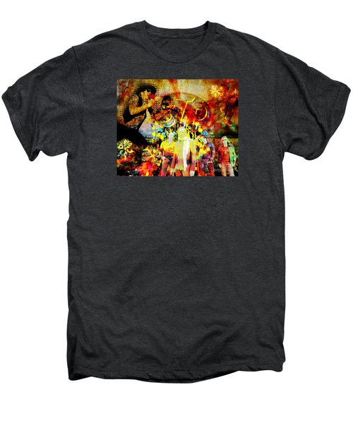 Stone Temple Pilots Original  Men's Premium T-Shirt by Ryan Rock Artist
