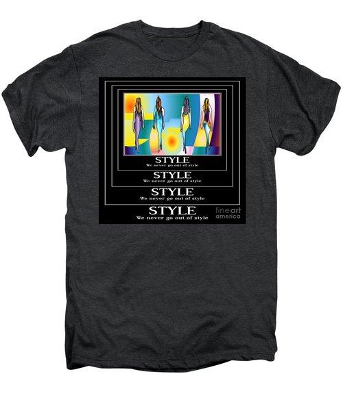 Style Men's Premium T-Shirt by Kim Peto
