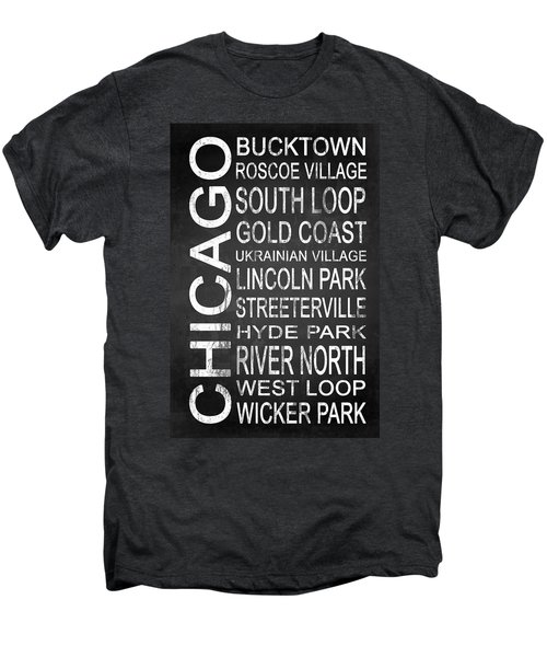 Subway Chicago 2 Men's Premium T-Shirt