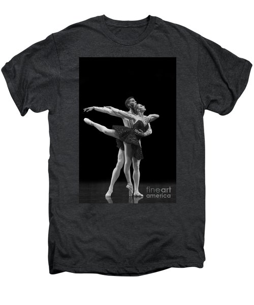 Swan Lake  Black Adagio  Russia  Men's Premium T-Shirt