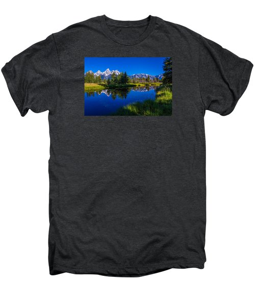 Teton Reflection Men's Premium T-Shirt
