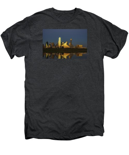 Texas Gold Men's Premium T-Shirt by Rick Berk