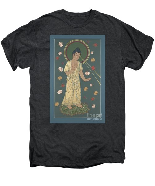 The Amitabha Buddha Descending 247 Men's Premium T-Shirt
