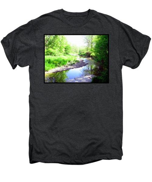 The Babbling Stream Men's Premium T-Shirt