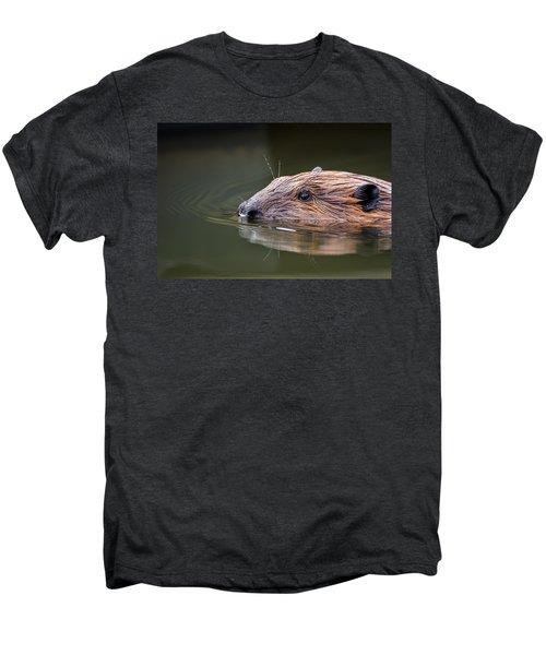 The Beaver Men's Premium T-Shirt by Bill Wakeley