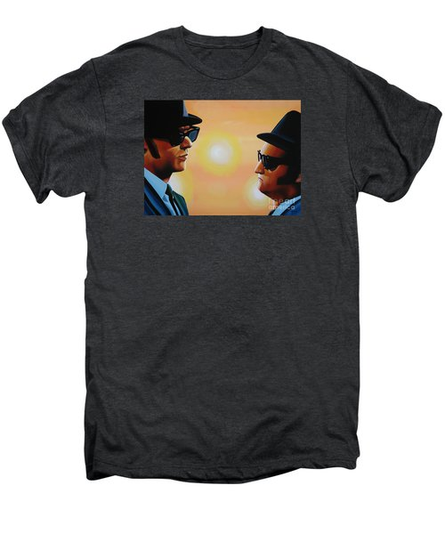 The Blues Brothers Men's Premium T-Shirt by Paul Meijering