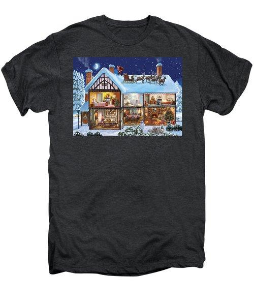 Christmas House Men's Premium T-Shirt