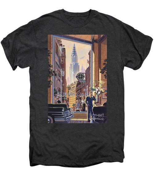 The Chrysler Men's Premium T-Shirt by Michael Young