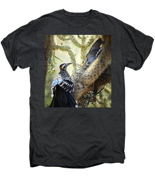 The Dove Vs. The Roadrunner Men's Premium T-Shirt