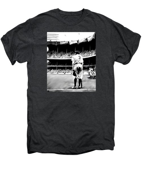 The Greatest Of All  Babe Ruth Men's Premium T-Shirt by Iconic Images Art Gallery David Pucciarelli