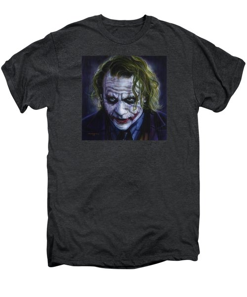 The Joker Men's Premium T-Shirt by Tim  Scoggins