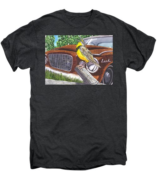 The Meadowlarks Men's Premium T-Shirt by Catherine G McElroy