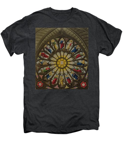 The North Window Men's Premium T-Shirt by William Johnstone White