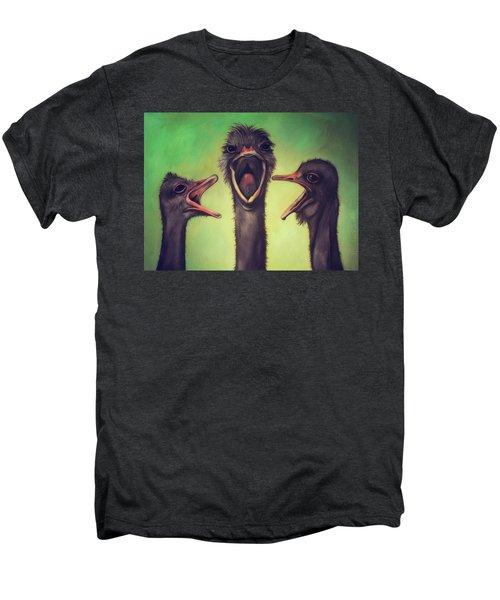 The Singers Men's Premium T-Shirt by Leah Saulnier The Painting Maniac