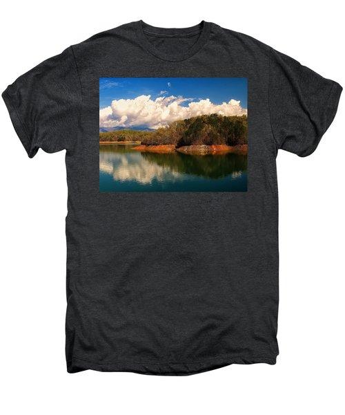 Thunderstorm Rolling Over The Smokies Men's Premium T-Shirt
