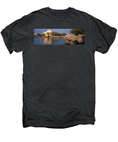 Tidal Basin Washington Dc Men's Premium T-Shirt by Panoramic Images