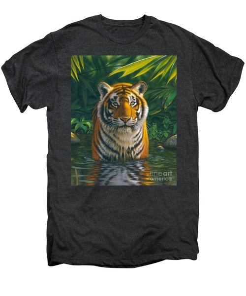 Tiger Pool Men's Premium T-Shirt