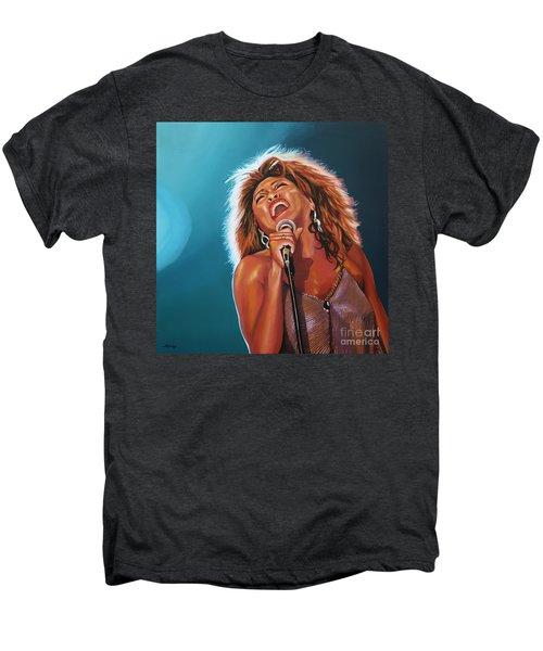 Tina Turner 3 Men's Premium T-Shirt