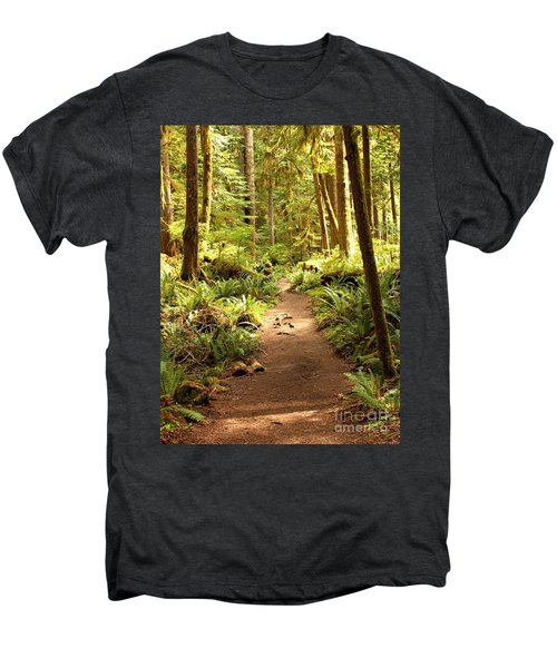 Trail Through The Rainforest Men's Premium T-Shirt
