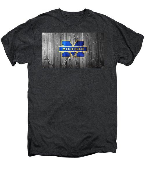 University Of Michigan Men's Premium T-Shirt by Dan Sproul